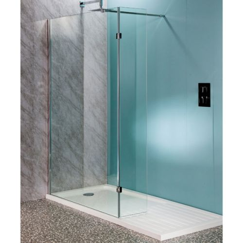 Aquatech 10mm Wet Room Panels with 300mm Hinged Panel