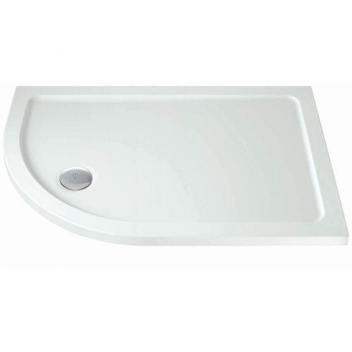 Phoenix Offset Quadrant Shower Tray 1200x900mm LH Option