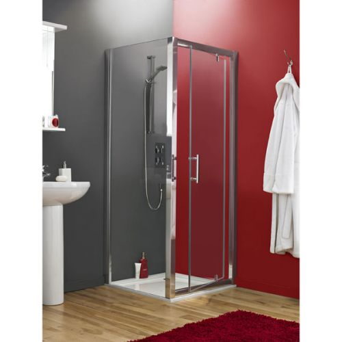 Premier Pacific Pivot Shower Door With Side Panels