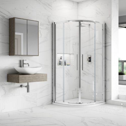 Apex Easy Fit Quadrant Shower Enclosure