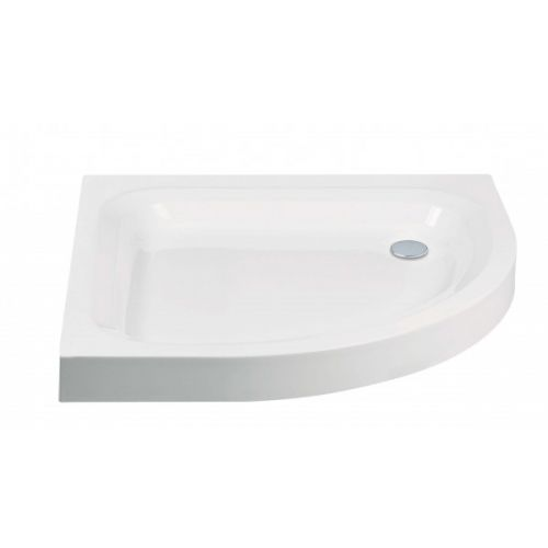 Aquaglass deep step in shower tray