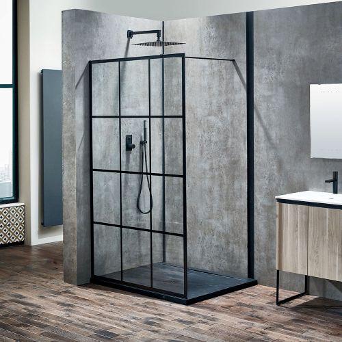 Aquaglass Velar Crittall Style Shower Screen