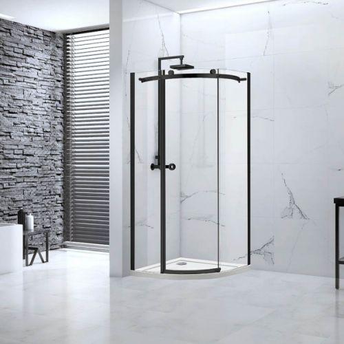 Aquaglass Sphere Industrial Design 1 Door Quadrant Shower Enclosure