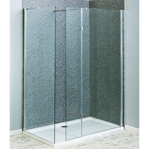 Shower Screen Hinged Return Panel 6mm For 8mm Screens