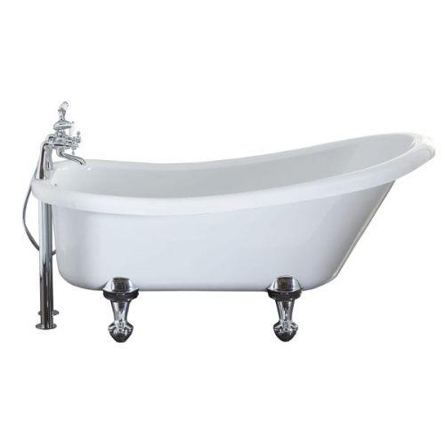 Camden Freestanding Slipper Bath In White