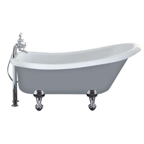 Dust Grey Camden Slipper Bath