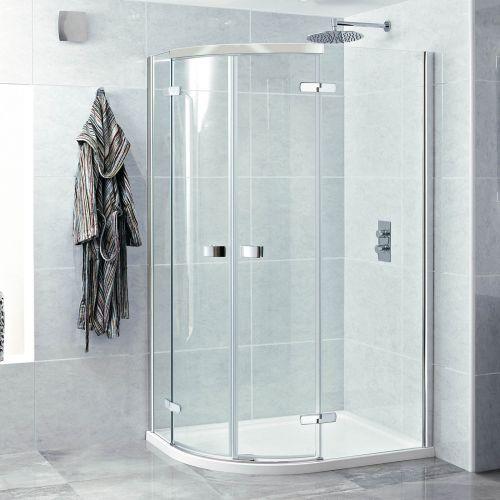 Phoenix Idyllic 8mm 2 Door Quadrant Frameless Shower