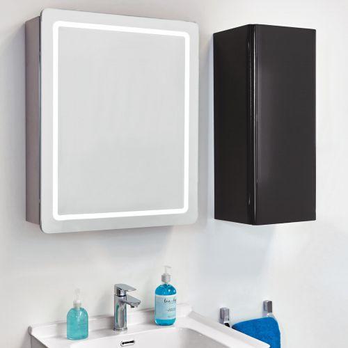 Phoenix Europa MI053 bathroom cabinet next to a storage cabinet