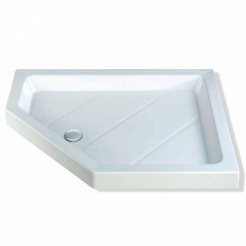 MX Classic 1200x900 Offset Pentangle Shower Tray