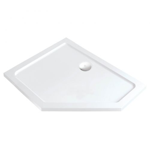 1200x900 RH offst pentangle shower tray