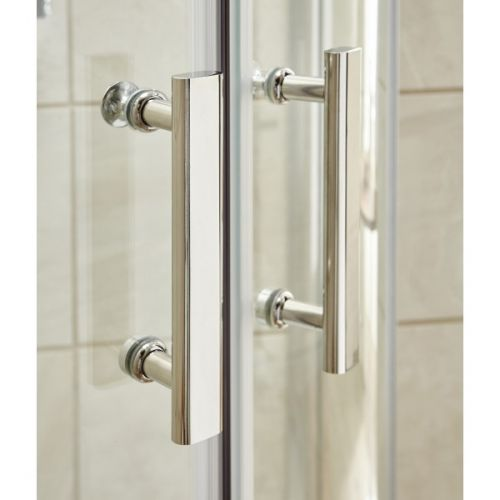 Pacific shower enclosure handles