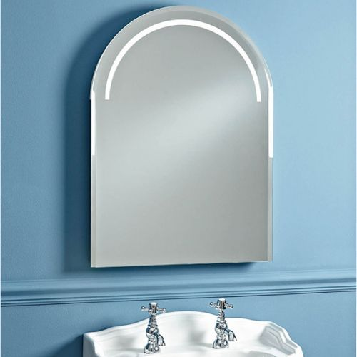 Phoenix Balmoral Arched Bathroom Mirror with Lighting