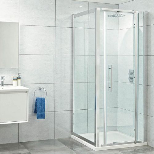Phoenix Elegance Pivot Door Shower Enclosure