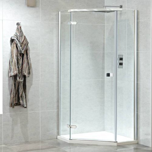 Phoenix Idyllic 900mm shower enclosure LH model shown