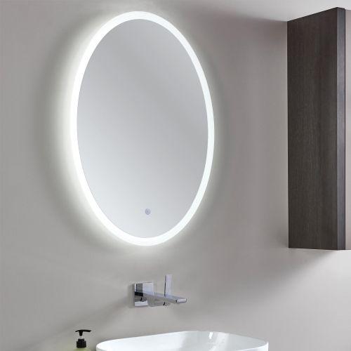 MI073 Phoenix Rosa oval bathroom mirror