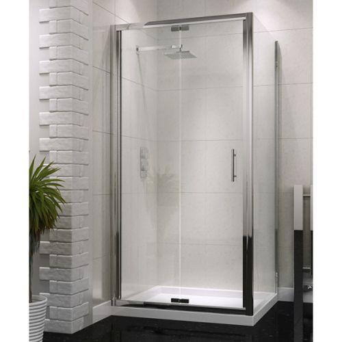 Shield Semi Frameless Bifold Shower Door 760 900mm