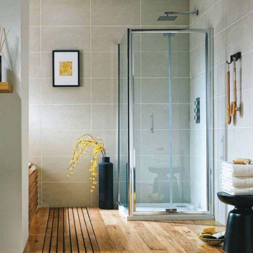 Shield VI Semi-Frameless Bifold Shower Door