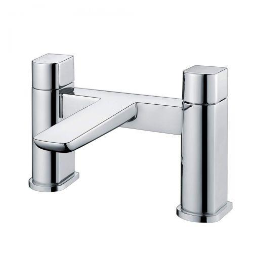 Scudo Muro deck mounted bath filler tap in chrome