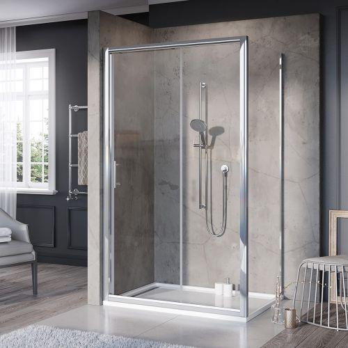 Shield VI Plus Pre-assembled Sliding Shower Door