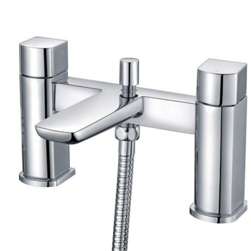 Scudo Muro Bath Shower Mixer tap with shower kit