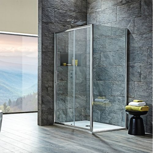 Shield VIII Single Sliding Shower Door
