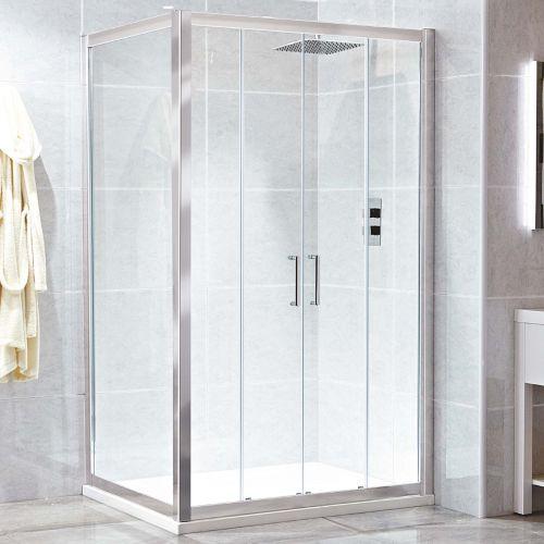 SE914 Phoenix Spirit double sliding shower door