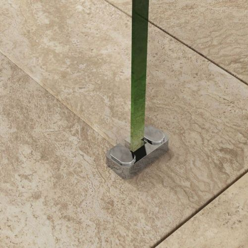 Example of the wetroom retainer support being used