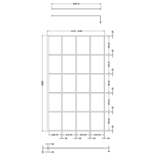 WRSF012 Technical Drawing