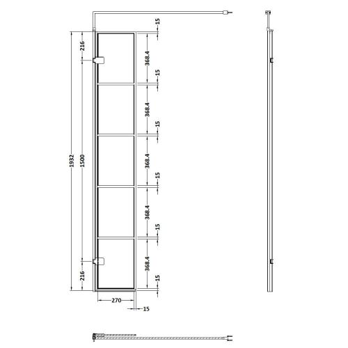 WRSF030 Technical Drawing