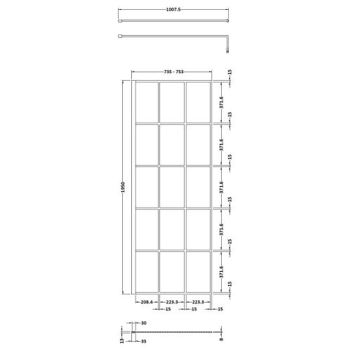 WRSF076 Technical Drawing