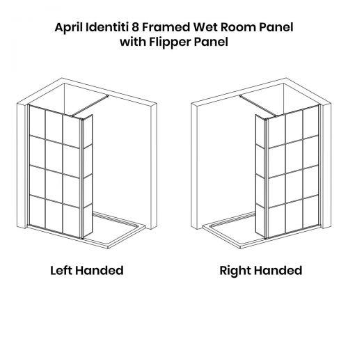 Technical drawing for the April Matrix flipper screen