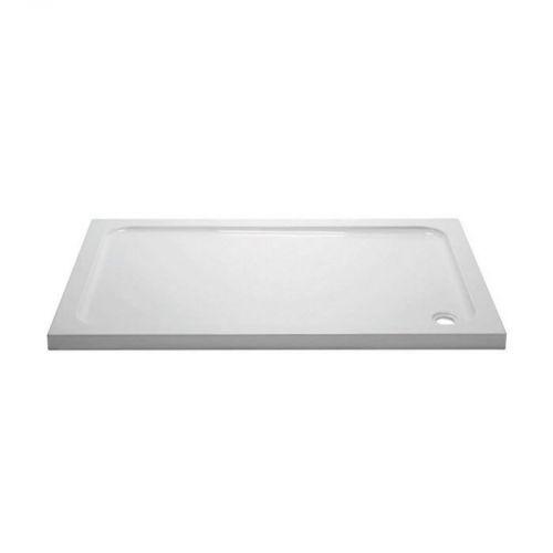 April/Aquadart Rectangular Stone Resin Shower Tray