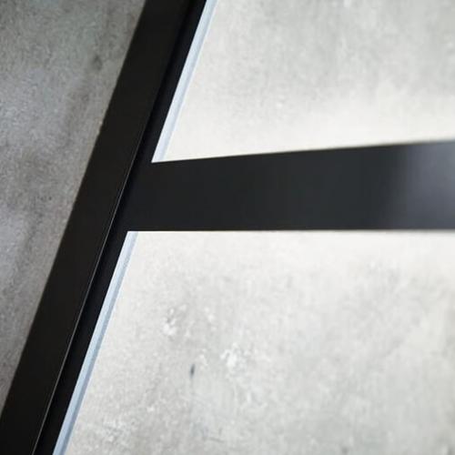 Aquaglass Velar Crittall Wall Profile