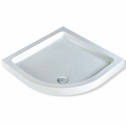 80mm Deep 900mm Quadrant Shower Tray