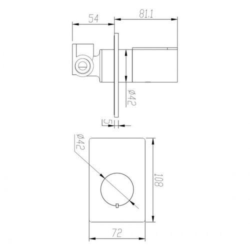 BIQ230145GBFG Technical Drawing