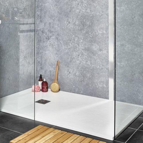 Example KVIT shower panel installation