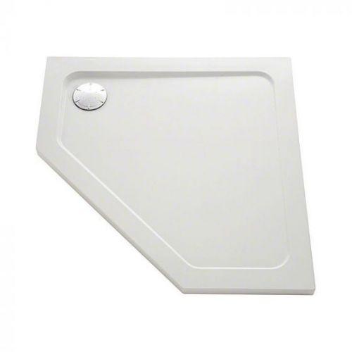 Mira Flight Safe pentagon shower tray