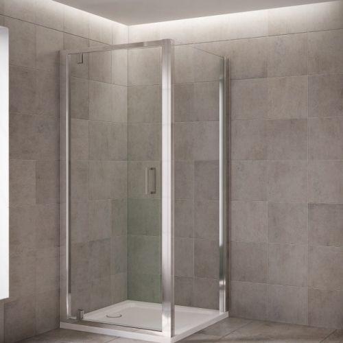 Mira Leap pivoting shower door