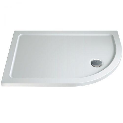 Stone resin quadrant tray
