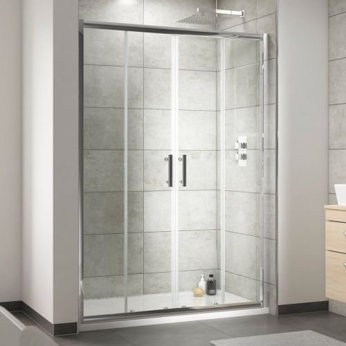 Pacific Double Sliding Shower Door