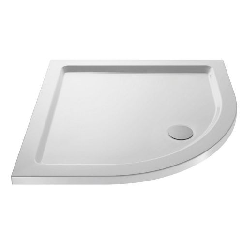 900mm Quadrant Stone Resin 40mm Shower Tray