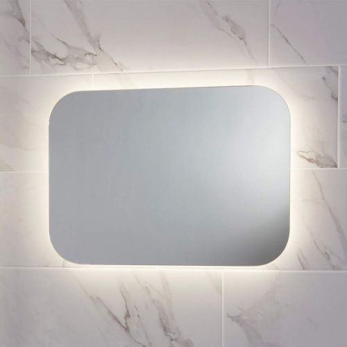 Scudo Aura Rectangular bathroom mirror