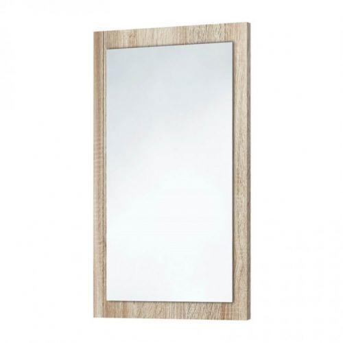 Scudo Wood Frame Mirror In Bardolino Driftwood