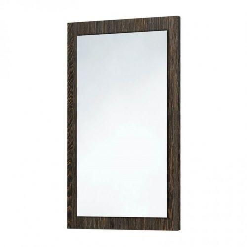 Scudo Wood Frame Mirror In Dark Oak