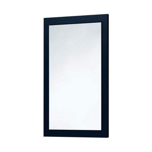 Scudo Wood Frame Mirror In Indigo Blue