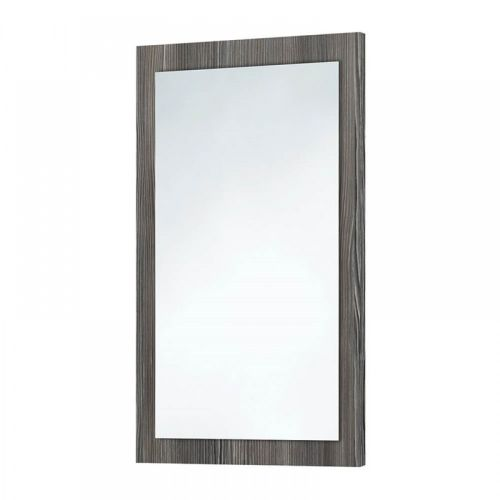 Scudo Wood Frame Mirror In Avola Grey