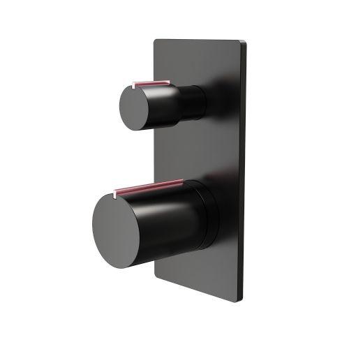 Aquaglass Velar Concealed 2 Way Shower Valve