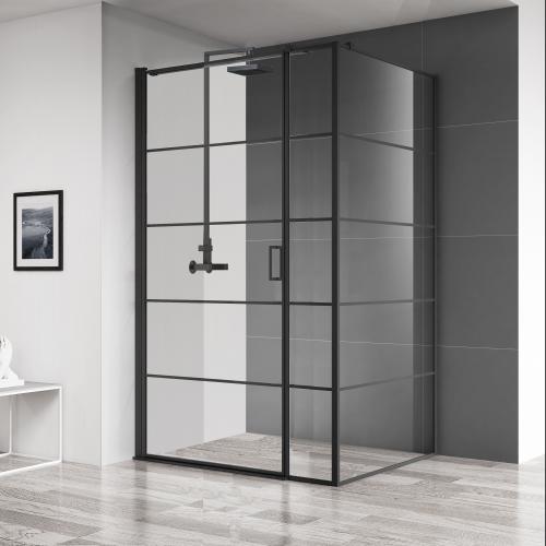Aquaglass Velar Crittal Hinged Shower Door