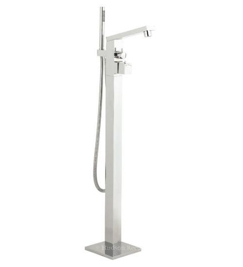 Freestanding Bath & Shower Mixer with Leg Set & Shower Kit