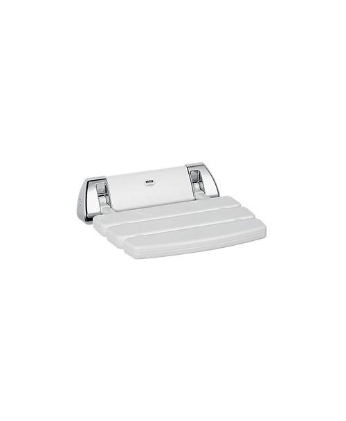 Mira White Folding Shower Seat